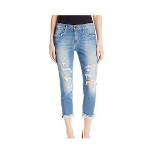 Joe's Jeans Distressed Slim Cropped Gretchen Jean